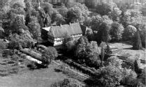 Luftbild Burg