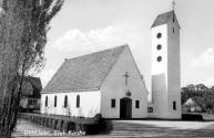 Postkarte Ev. Kirche