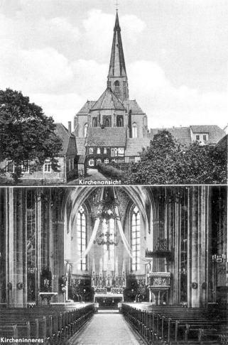 Postkarte Kirche