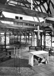 Altar aus Findlingen