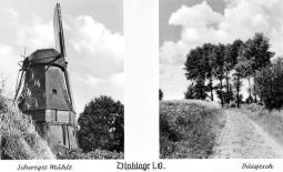 Postkarte Mühle