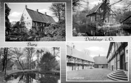 Postkarte Burg
