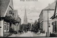 -54- links die Häuser Beiderhase und Kreuzmann, rechts am Rand Wehebrink, gegenüber Hotel Grote (Stern)