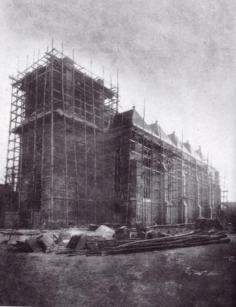 Kirchenbau Dinklage 1878