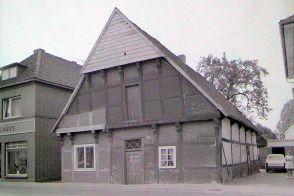 Haus von Stuten Marie, heute abgerissen für einen Pakplatz