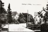 -12- Blick nach Süden, links das spätere Krankenhaus, vorne die Brücke über die Dinkel