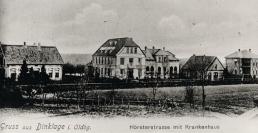 -16- links Aschern, in der Mitte das Krankenhaus