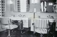 -213- Innenansicht Damensalon Lüske