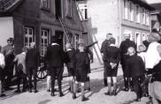 -158- Brand oder Übung im Haus Kathmann & Beimohr