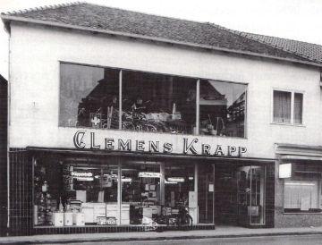 """-147- Haus Dünnebacke beherbergte später die Firma Krapp, die vom """"Tempel"""" hierher zog"""