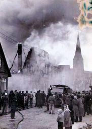 -215- 2. Februar 1956 Brand des Hauses Wehry