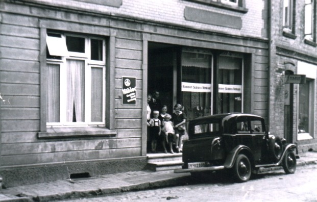 -7- Gerdesmeyer kam ursprünglich vom Hof Gerdesmeyer Sülzbühren zwischen Bühren und Emstek.
