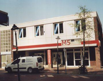 -31- Textilkaufhaus M5 an der Stelle des ehemaligen Gasthofes Deutsches Haus, 2011 aufgenommen