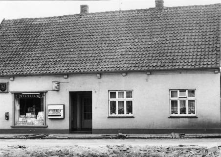 -58- Später stand an dieser Stelle das Haus der Familie Barlage / Nieberding.