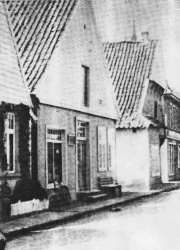-82- Schuhaus Niemann im Jahre 1926.