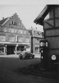 -14- Blick von Wittrocks Kohlenschuppen auf den Oldenburger Hof