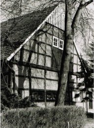 -14c- Südgiebel des Pfarrhauses Foto: Karl Mönkediek, 1985