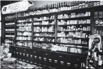 -18- Am westlichen Nordende des Marktplatzes befand sich die Drogerie Elsbeth Schneider, Am Markt (gegründet 1947), heute Gören Imbiss