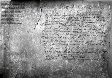 """-106- """"Kegelklup Dinklage"""" von 1889"""
