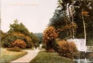 -71- Garten der Burg, heute Garten der Abtei und nicht mehr öffentlich zugänglich