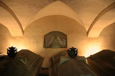 -60b- Familiengruft der Familie von Galen unter der Burgkapelle (Foto: C. Dressler)