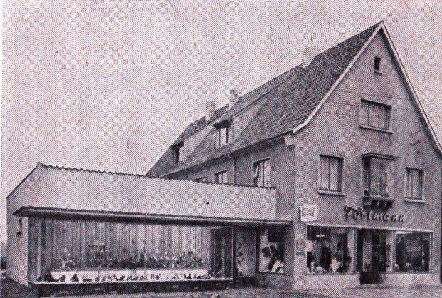 -49- Haus Fortmann mit einem ersten Anbau