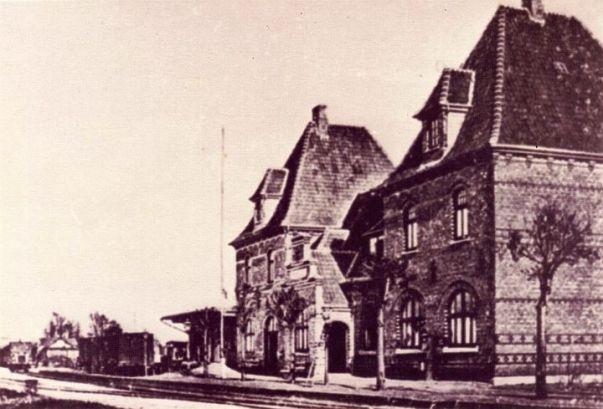 -34- Bahnhof 1888