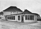 """-11- Theaterklause 1959. Das Gebäude ist ausführlich beschrieben in """"gaststätten in Dinklage"""", Christian Martin u.A., Heimatverein Herrlichkeit Dinklage"""