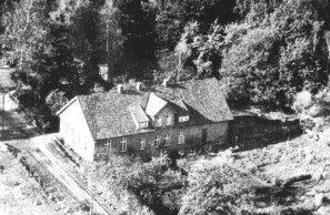 Luftbild schule wulfenau