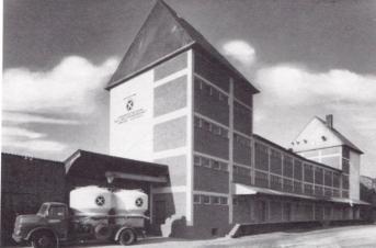 LBAG Lagergebäude am Bahnhof