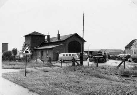 Lok-Schuppen, Foto: Quill , Juni 1966