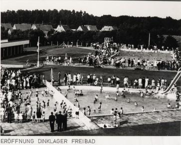 Freibaderöffnung 1963