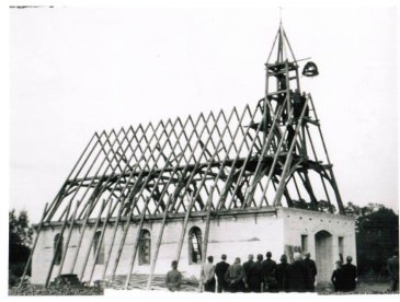 Richtfest Ev Kirche 1952 Foto Hinz