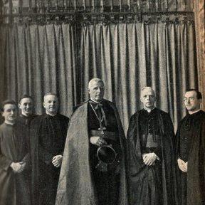 Die Gruppe um Clemens August Graf von Galen in Rom