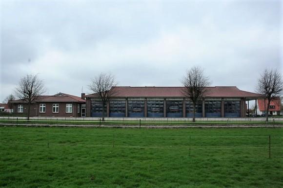 Das neue Feuerwehrhaus wir 1999 eingeweiht.