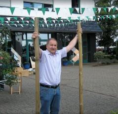 Seit 2012 hält die §. Kompanie Rummelsburger Ihren Frühschoppen zum Schützenfest auf dem Gelände hinter dem Ehemaligen Feuerwehrhaus Ludger Baumann beim Schmücken im gleichen Jahr