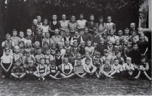 Schüler der Schule Bahlen 1949