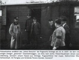 Die Einrichtung einer Flugwacht in Dinklage 1937 kann man heute sicher Als Kriegsvorbereitung der Nationalsozialisten werten.