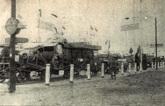 Die Firma Holthaus auf der Landwirtschaftsausstellung 1930 in Köln