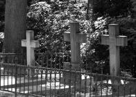Grabstätte der Familie von Rössing auf dem Friedhof in Wulfenau 2018