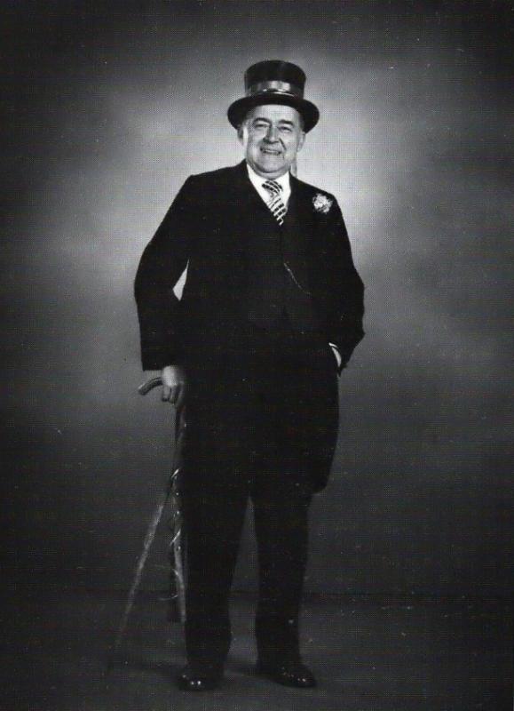 Franz Willenborg als Hochzeitsbitter in Dinklage