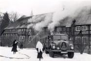 Brand der Burg 12.1.1963