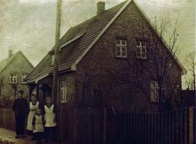 Friedenstraße Nr. 4 in den 1920 er Jahren