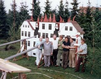 von links nach rechts. Werner Überwasser, Herrmann Warnking, Werner Helmdach, Josef Kalvelage, Heinrch Kröger, Franz Josef Buddelmeyer, Reinhold Albermann