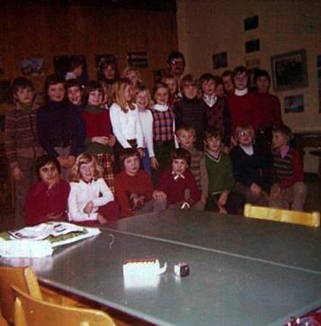 Orientierungsstufe 1976 mit Lehrer Varelmann