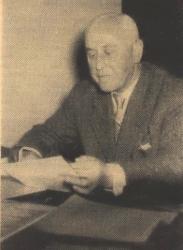 Otto Schwarzkopf anläßlich seines Arbeitsjubiläums