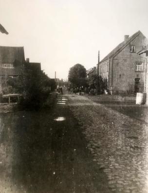 Die Holthausstraße um 1950