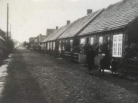 Die Holthausstraße um 1930