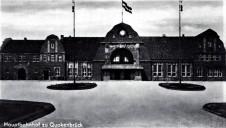 Quakenbrücker Bahnhof 1910