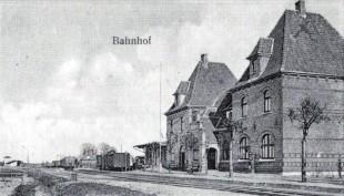 nklager Bahnhof,,Postkarte von 1910